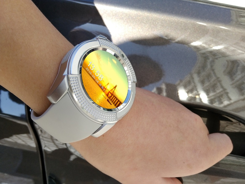 Private-mold-V8-smart-watch-Support-Facebook-2